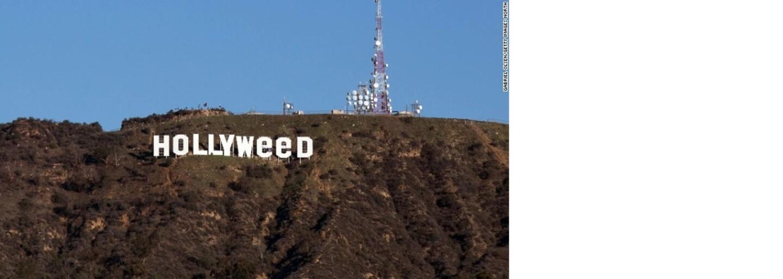 Muž, ktorý spravil zo známeho nápisu Hollyweed, prehovoril o svojom čine. Tvrdí, že legalizácia marihuany nie je dostatočne preberanou témou