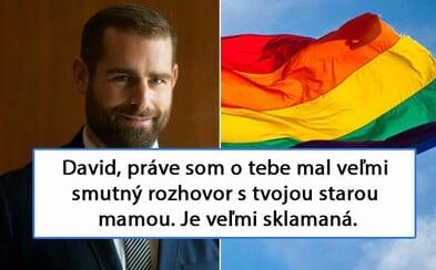 Muž nechutně urazil homosexuálního politika, tak ten zavolal jeho babičce a udělal mu ostudu. Na Facebook bys neměl dávat babiččino číslo