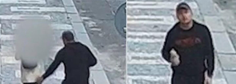 Muž osahával ženu na ulici v Praze. Pátrá po něm policie