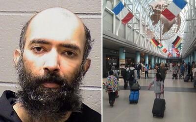 Muž potajomky tri mesiace býval na letisku v Chicagu, lebo sa bál koronavírusu. Kŕmili ho náhodní cestujúci