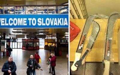 Muž s nožmi a mačetami napadol SBS-kára na bratislavskej Hlavnej stanici