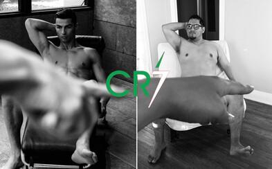 Muž sa na Instagrame pokúšal správať ako Cristiano Ronaldo. Vtipnému experimentu chýbali len tehličky na bruchu a posteľná bielizeň s logom