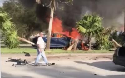 Muž se údajně udusil v Tesle Model S, jeho rodina žaluje výrobce