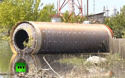 Muž si ráno v záhrade našiel časť sovietskej rakety