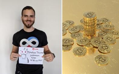 Muž ztratil přístup k peněžence s Bitcoiny za více než 5 miliard korun. Má poslední dva pokusy dostat se k nim