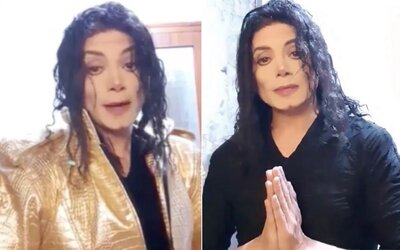 Muž tvrdí, že je Michael Jackson, stoprocentně se mu podobá. Lidé chtějí, aby šel na DNA testy
