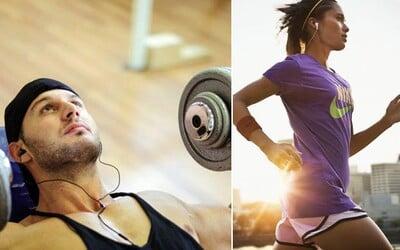 Může nám hudba pomoci zvýšit sílu nebo vytrvalost během tréninku?