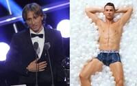 Múzeum Cristiana Ronalda provokatívne odpovedalo na výhru Luku Modriča v ankete o najlepšieho hráča FIFA