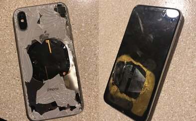 Muži měl iPhone X vybuchnout po aktualizaci na iOS 12.1. Apple zatím jen stručně zareagoval