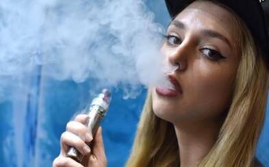 Myším, které inhalovaly nikotinové výpary z vapingu, narostl nádor na plicích