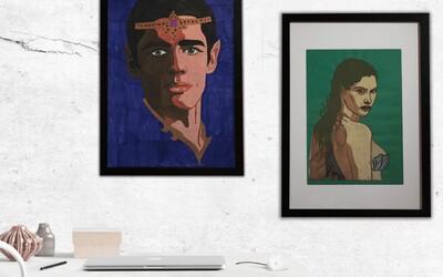 Na Aukru se draží téměř desítka uměleckých děl vytvořených lidmi bez domova. Získej originální kousek, který má příběh