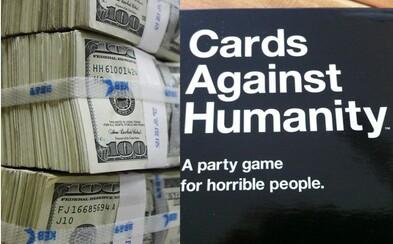 Na Black Friday predávali úplné nič za 5 dolárov a zarobili ich 55-tisíc. Cards Against Humanity vedia, ako na ľudí