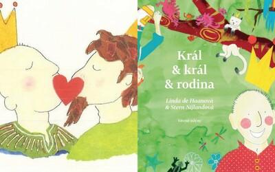 Na český trh príde rozprávková kniha o gay kráľovstve. Král & král & rodina má deťom zrozumiteľne vysvetliť problematiku homosexuálov