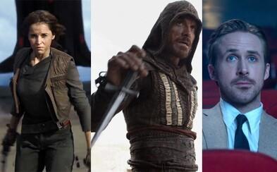 Na čo zájsť do kina v decembri? Úspešný rok 2016 zavŕši prvý Star Wars spin-off či veľkolepý Assassin's Creed