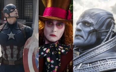 Na čo zájsť do kina v mesiaci máj, ktorý začína blockbusterovú sezónu plnú komiksoviek, akčných veľkofilmov a rozprávok?
