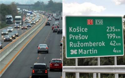 Na dokončenú diaľnicu z Bratislavy do Košíc si možno počkáme až do roku 2027