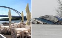 Na Dunaji v Bratislave sa odtrhol pontón s populárnou reštauráciou. Plavil sa po rieke a ohrozoval lode