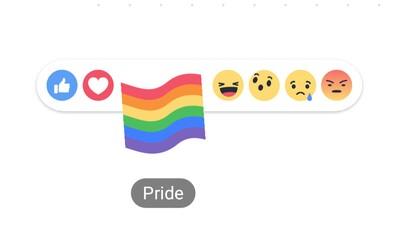 Na Facebooku teraz ľudia môžu reagovať dúhovou vlajkou! Sociálna sieť v júni oslavuje mesiac na podporu LGBTQ komunity