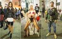 Na Fashion LIVE! nebola núdza o štýlové outfity. Okrem známych osobností sa nedali zahanbiť ani bežní návštevníci