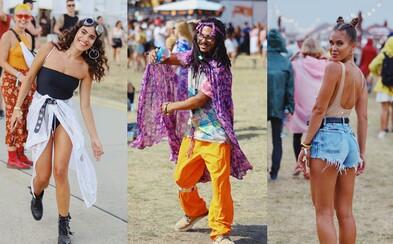 Na Grape nebola núdza o štýlové outfity. Slovenky a Slováci predviedli, že sa na festival vedia nahodiť
