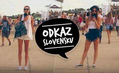 Na Grape sme Slovákom požičali mikrofón, aby čokoľvek odkázali celej krajine. Niektoré posolstvá ťa naozaj pobavia (Video)