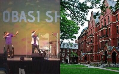 Na Harvarde miesto záverečnej práce odovzdal rapový album. 10 trackov mu zabezpečilo skvelý úspech aj s vyznamenaním