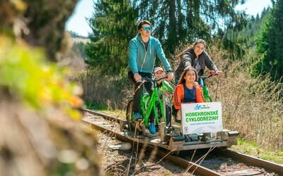 Na Horehroní môžeš od mája skúsiť unikátny koľajový bicykel
