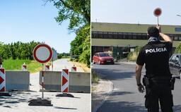 Na hraničnom priechode Horné Srnie bol protest, polícia zadržala poslanca ĽSNS Petra Krupu