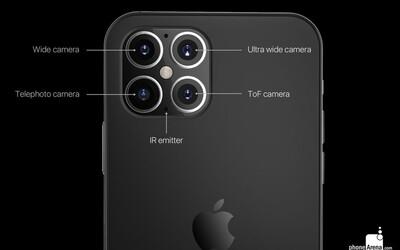 Na internet unikly snímky fotoaparátu iPhonu 12. Mohl by mít až čtyři objektivy