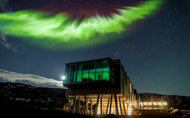 Na Islandu stojí hotel, který byl navržen pro optimální sledování polární záře