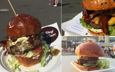 Na jubilejním pátém ročníku největšího burgerového festivalu ve střední Evropě nám opět chutnalo (Fotoreport)