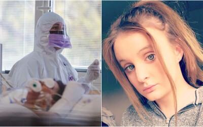 Na koronavírus zomrelo len 21-ročné dievča. Okrem COVID-19 údajne  nemalo žiadne iné zdravotné problémy