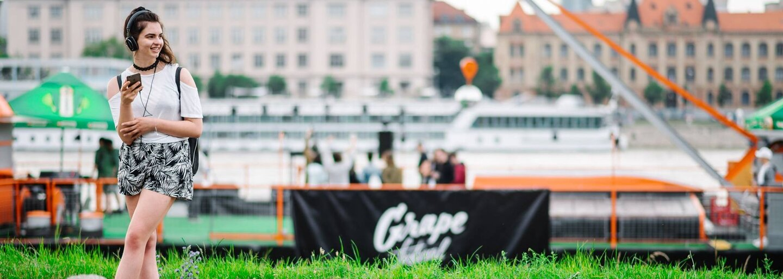 Na krásnom zelenom Dunaji dnes bude opäť rušno, ovládne ho Grape s hudobným sprievodom