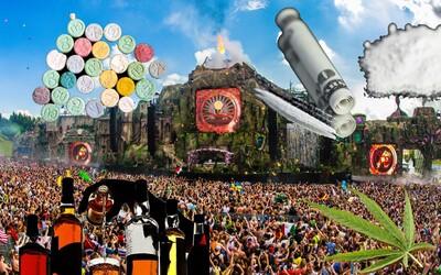 Na kterém hudebním festivalu se užívá nejvíce marihuany, extáze nebo kokainu? Dozvíš se díky zajímavé infografice