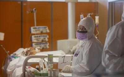 Na LDN v Thomayerově nemocnici se už většina pacientů nakazila koronavirem
