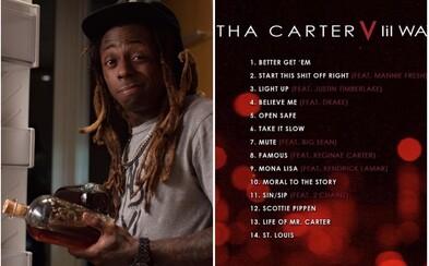 Na Lil Waynově Carter V najdeme Drakea, Kendricka, 2 Chainze i Big Seana