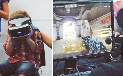 Na majstrovstvách Slovenska v e-sporte nechýbala skvelá atmosféra a ani virtuálna realita (Fotoreport)