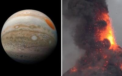 Na měsíci Jupiteru s nejaktivnějšími sopkami v celé sluneční soustavě vybuchne gigant jménem Loki