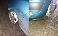 Na mol opitý chlapík jazdil v Anglicku na nový rok po diaľnici bez predných pneumatík
