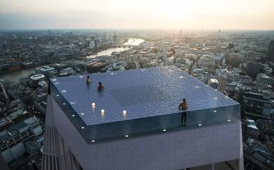 Na mrakodrape v Londýne chcú postaviť nekonečný bazén s 360-stupňovým výhľadom na britskú metropolu
