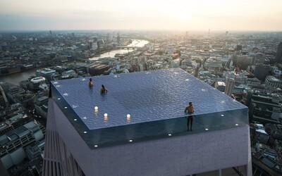 Na mrakodrapu v Londýně chtějí postavit bazén s 360stupňovým výhledem na britskou metropoli