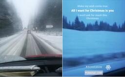 Na niektorých miestach Slovenska už sneží. Orava a Kysuce sa tešia z prvej bielej pokrývky