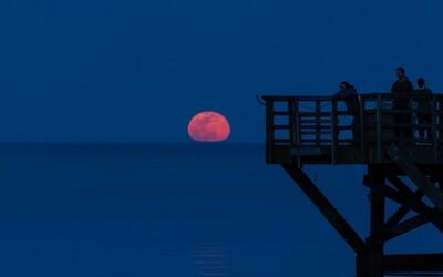 Na noční obloze se rozzáří unikátní růžový Měsíc. Příští týden nás čeká nebeské divadlo
