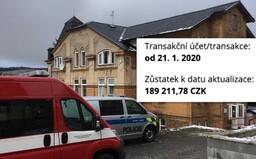 Na oběti požáru ve Vejprtech se ve veřejné sbírce vybralo už téměř 200 tisíc korun