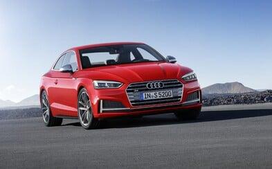 Na oko skoro rovnaké, no pritom úplne nové. Audi odhalilo A5 2017 vrátane 354-koňovej S5-ky