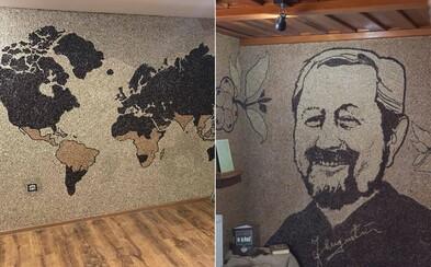 Na Orave majú najväčšiu mozaiku z kávy na svete. S plochou 107 metrov štvorcových je zapísaná aj v Guinessovej knihe rekordov