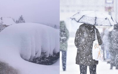 Na Orave už napadlo 100 centimetrov snehu, v Bratislave by mohlo padnúť 15 centimetrov už cez víkend