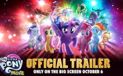 Na plátna kín sa dostane obľúbená animovaná rozprávka My Little Pony: The Movie. Poníky budú musieť brániť svoj domov pred nečakanou temnou silou