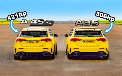 Na pohľad rovnaké, meranie síl však ukázalo evidentný rozdiel medzi A-čkovými AMG-čkami