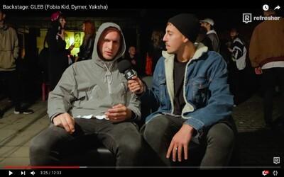 Na release party Glebovho albumu nechýbal Dalyb, Dymer ani Fobia Kid. Ako vyzeral backstage a za koľko by chalani nahrali motivačnú skladbu?